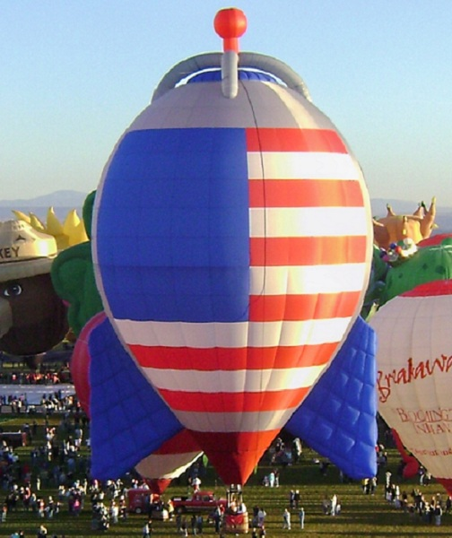 The American Rocket Hot Air Balloon