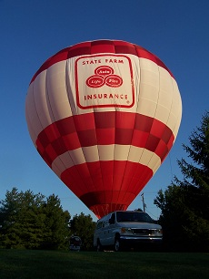 State Farm Hot Air Balloon