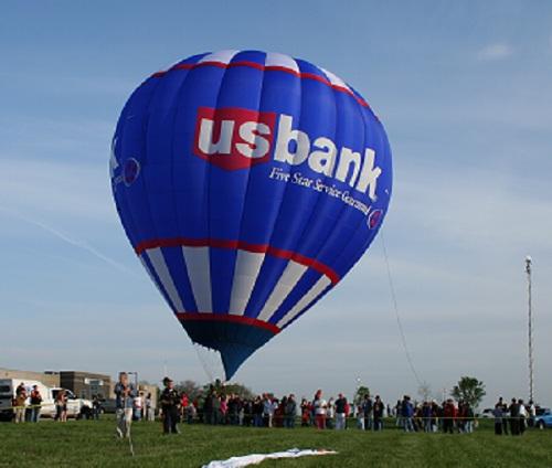 US Bank Hot Air Balloon